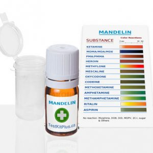 Kit de test Kétamine/PMA - Mandelin