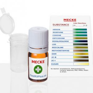 Kit de test Opiacés (Mecke)
