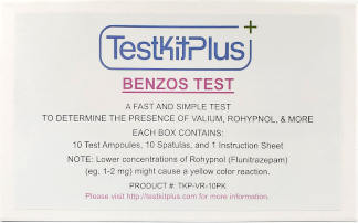 Benzo Drug Test Kit