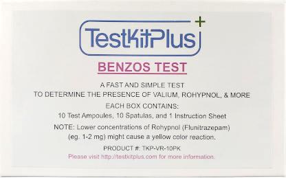 Benzo Drug Test Kit