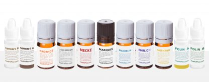Drug test kit package Marquis Mecke Mandelin Liebermann Ehrlich Hofmann Folin Simon's