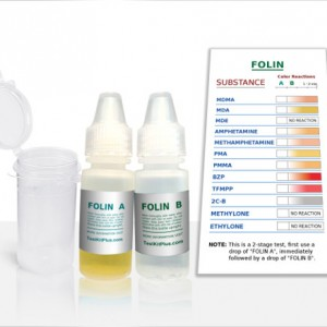 Folin test kit