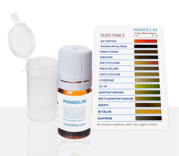 Ketamine/PMA (Mandelin) Test Kit