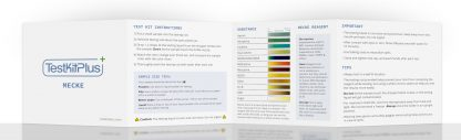 Mecke Reagent Color Reactions